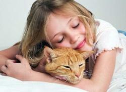 Глисты у кошек: может ли ими заразиться ребенок?